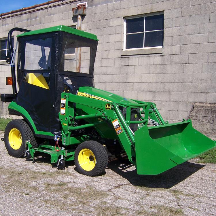 John Deere 1023e Tractor Cab   John Deere Cabs: John Deere