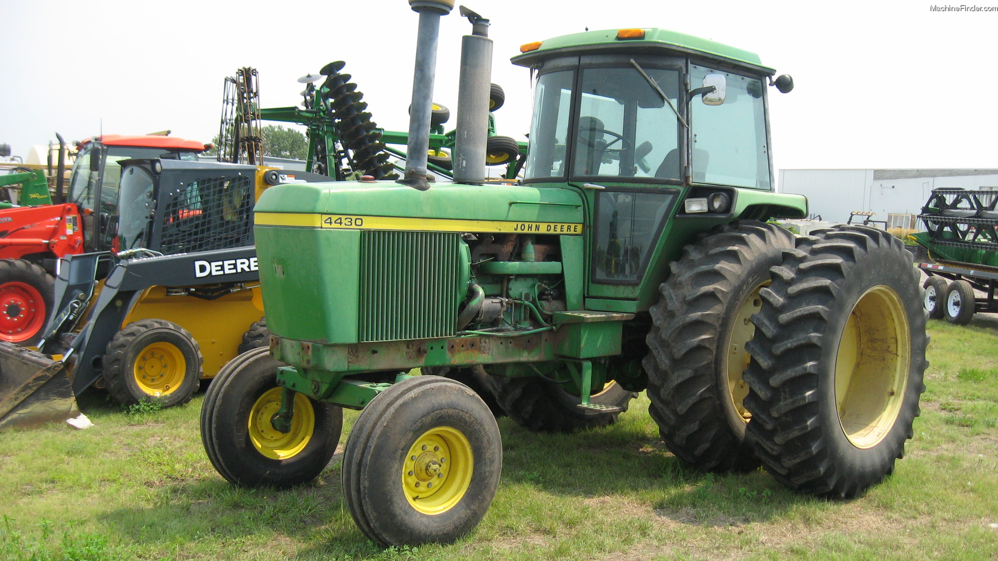 John Deere 4430 Cab Cabs Mygreen Wiring Schematic 1974 Tractors Row Crop 100hp Machinefinder