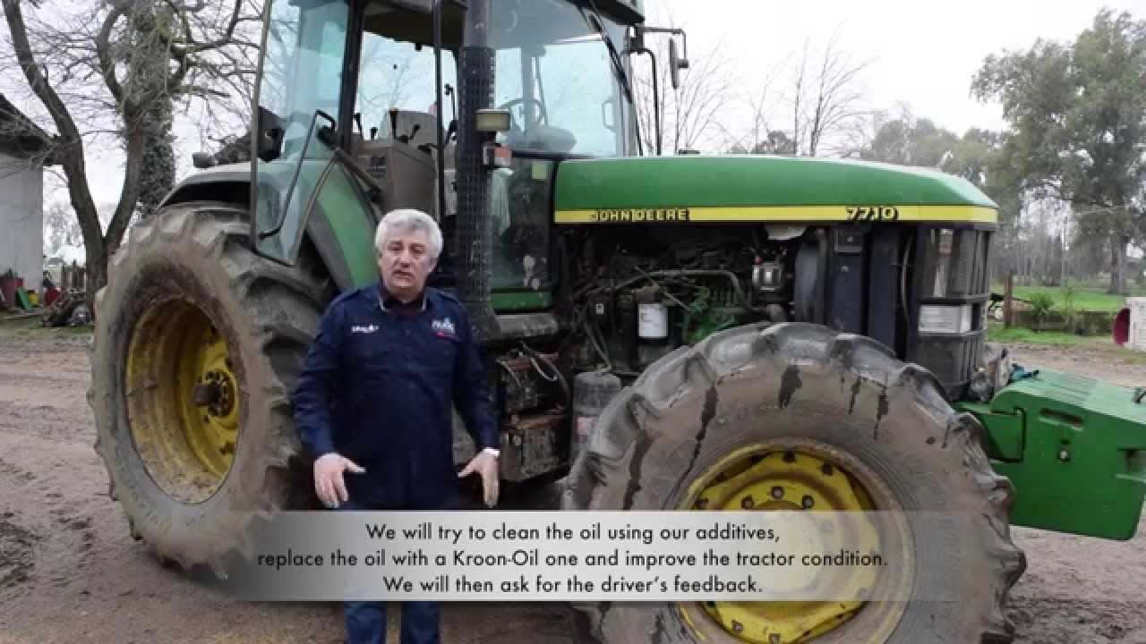 John Deere 7710. Tractor Service and how to solve engine problems - YouTube
