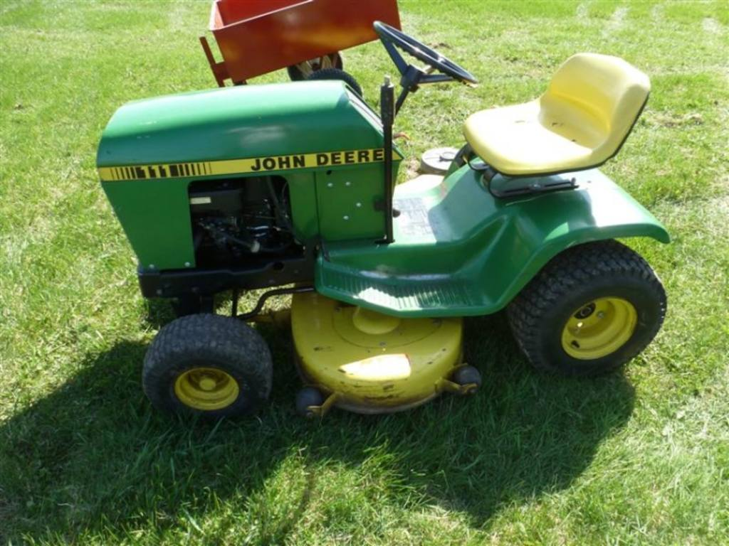 John Deere 111 Mower Deck Decks Www L107 Belt Drive And Idlers Exploded Parts Diagram More Work Done 3 12 2012wmv