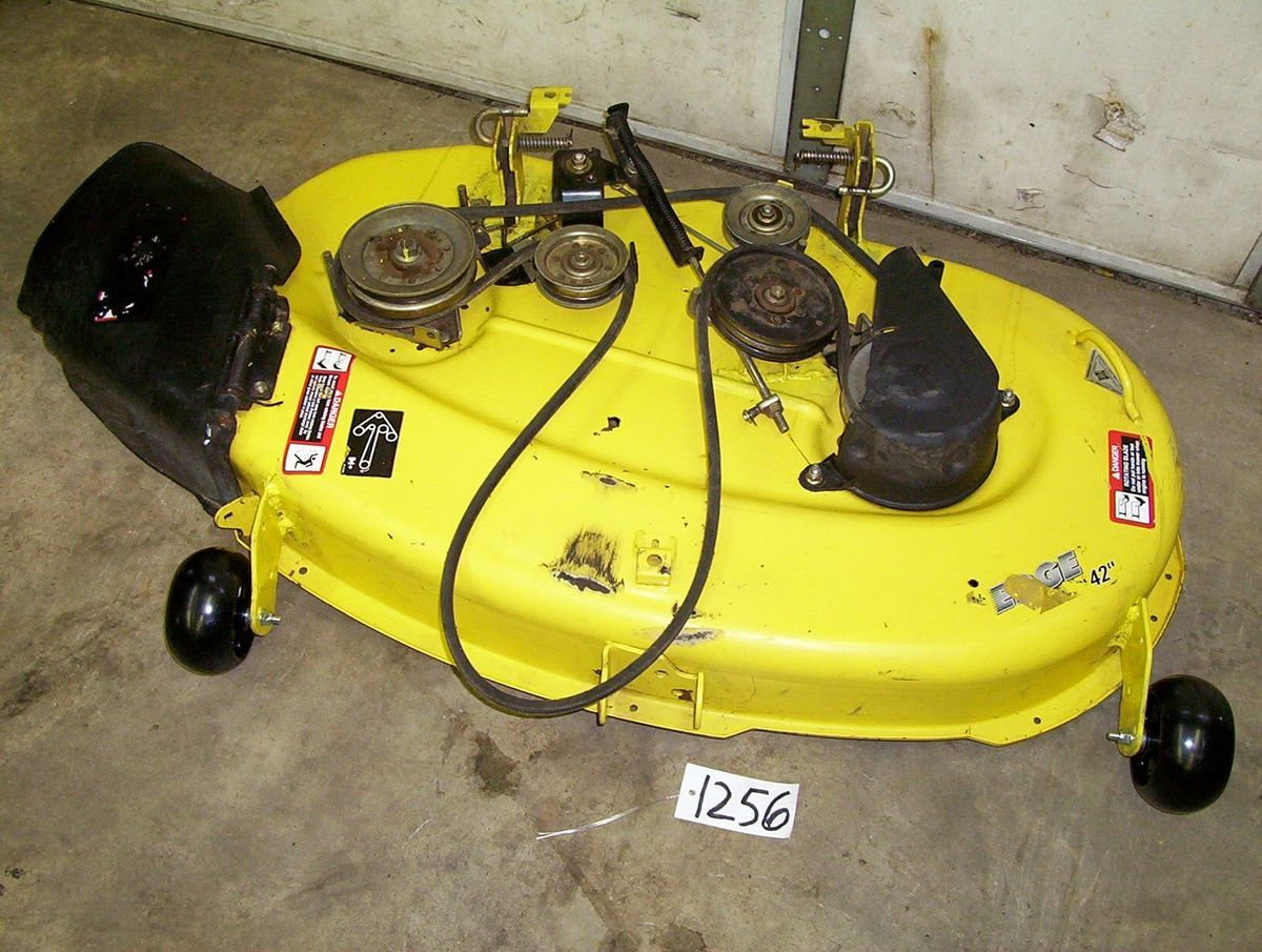 John Deere Lt133 Mower Deck Decks Engine Housing Diagram And Parts List For Craftsman Walkbehindlawn Tractors Tractor Manuals