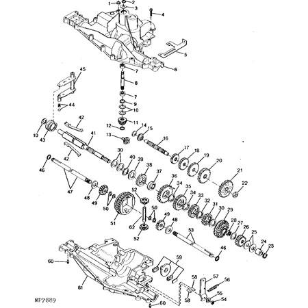 john deere gx75 transmission john deere transmission john deere John Deere 445 Attachments john deere rx75 parts diagram car interior design