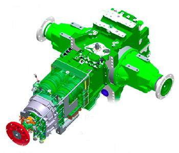 John Deere Power Quad Transmission | John Deere Transmission: John