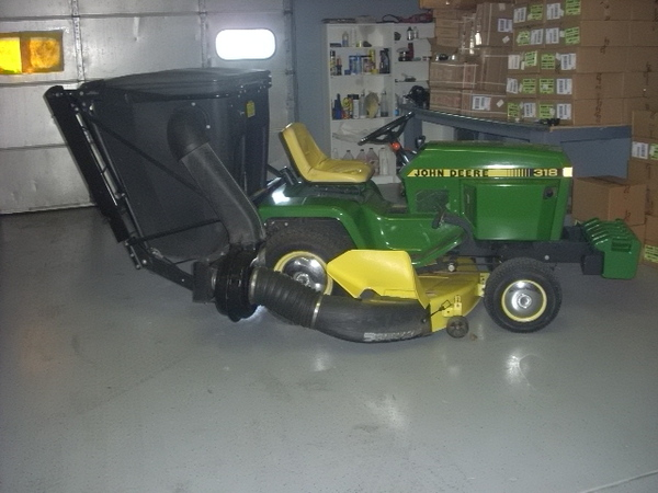 rototiller for john deere 318