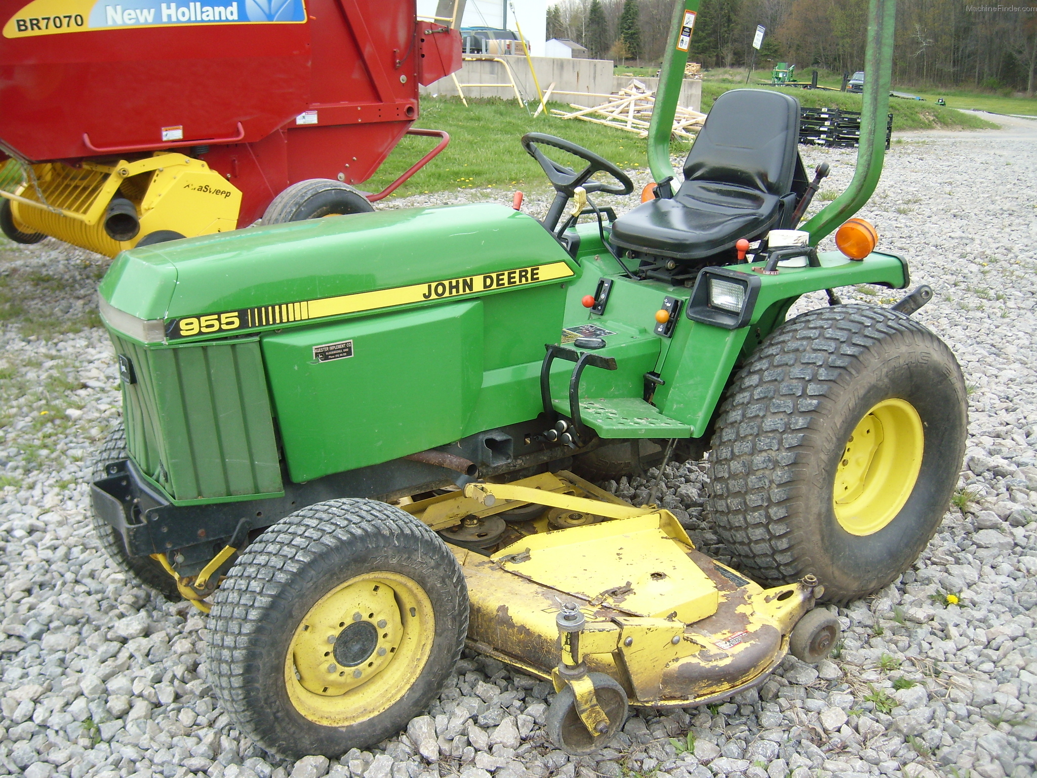 John deere 955 tiller john deere tillers john deere tillers www john deere tractor manual technical data and information fandeluxe Image collections