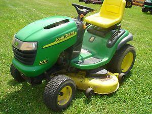 John Deere La140 23 Hp Lawn Tractor | John Deere Lawn Tractors: John