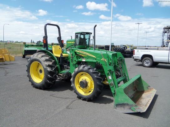 John Deere 5205 53 Hp Tractor | John Deere 5000 Advantage ... on
