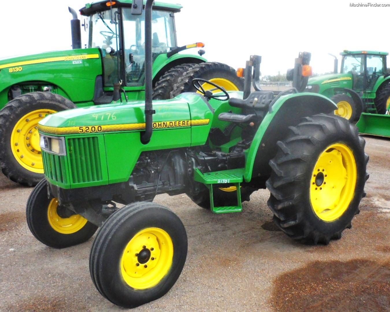 John Deere 5200 45 Hp Tractor 5000 Utility Series Wiring Diagram 1996 Tractors 40 100hp