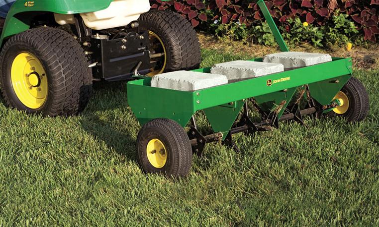 Lawn Care | Lawn Care | Ride-on Mower Attachments | John Deere