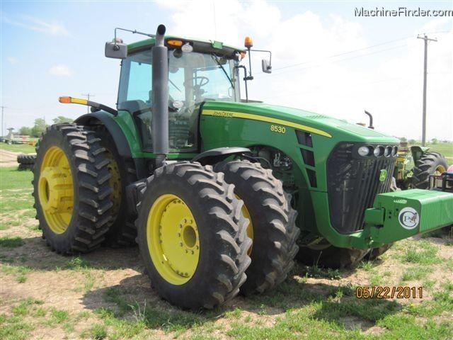 John Deere 8530 330 Hp Tractor John Deere 8030 Series Tractors