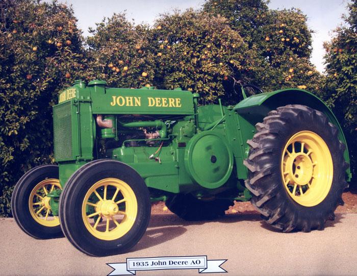 John Deere Ao Tractor | John Deere Two-cylinder Letter