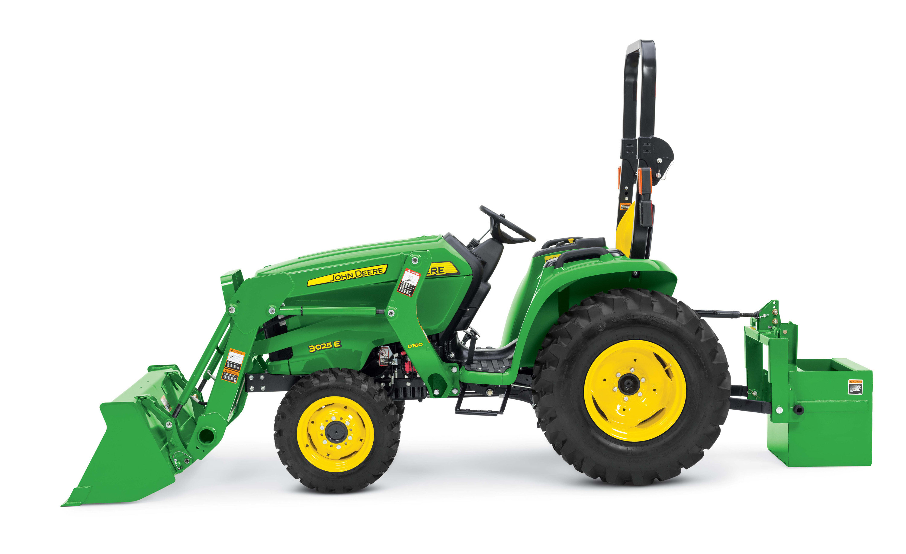 John Deere Compact Utility Tractors 5320 Fuse Box Diagram Studio Sideview Image Of A 3025e Tractor