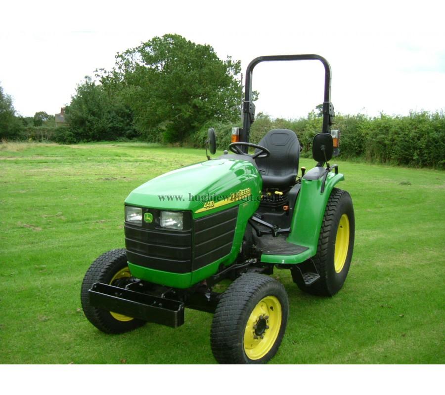 John Deere 4410 4wd Compact Utility Tractor   John Deere