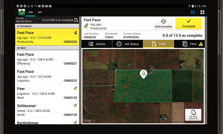 AgLogic: Manage and improve the productivity of your assets and fleet.