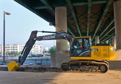 John Deere 180G LC hydraulic excavator - Utility Products Magazine