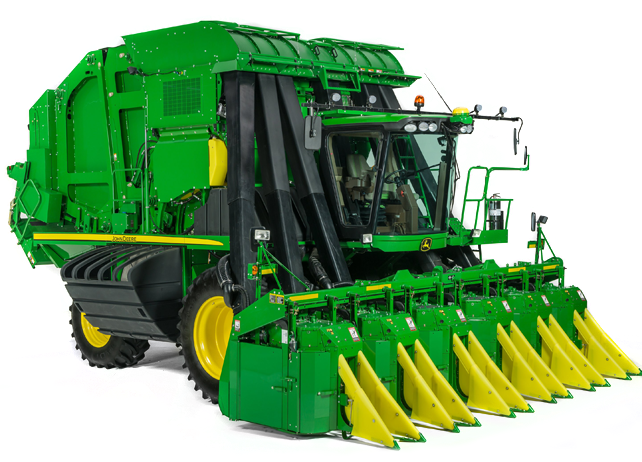 john deere cp690 self-propelled cotton picker
