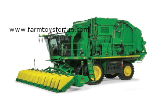 john deere cs690 self-propelled cotton stripper