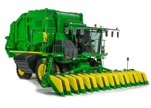 CS690 Cotton Stripper Cotton Harvesting JohnDeere.com