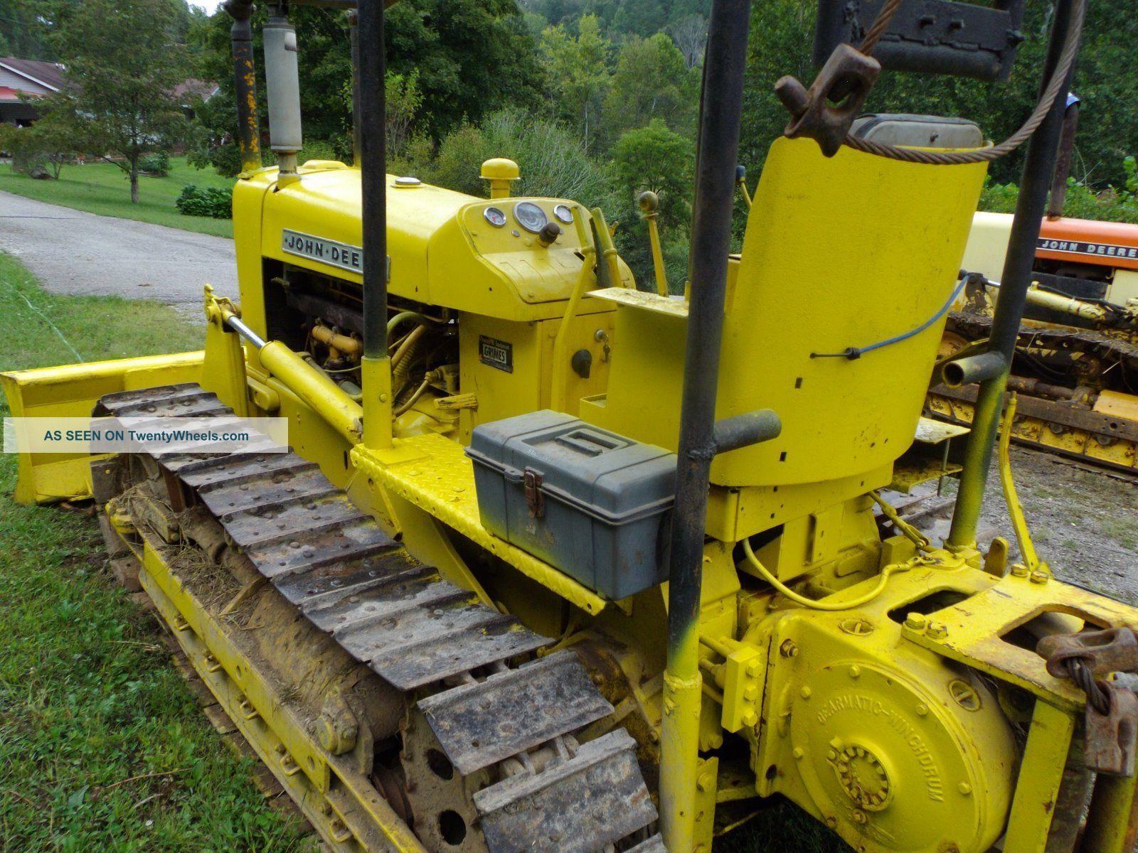 John Deere 1010 Crawler/dozer