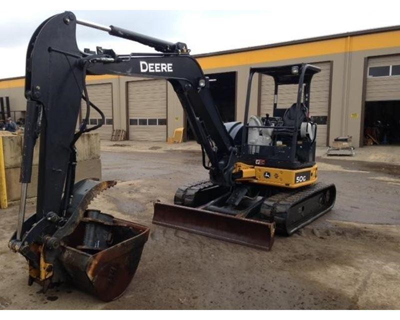 John Deere 50g Compact Excavator   John Deere Excavators