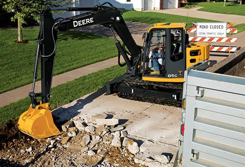 John Deere 85g Excavator | John Deere Excavators: John Deere
