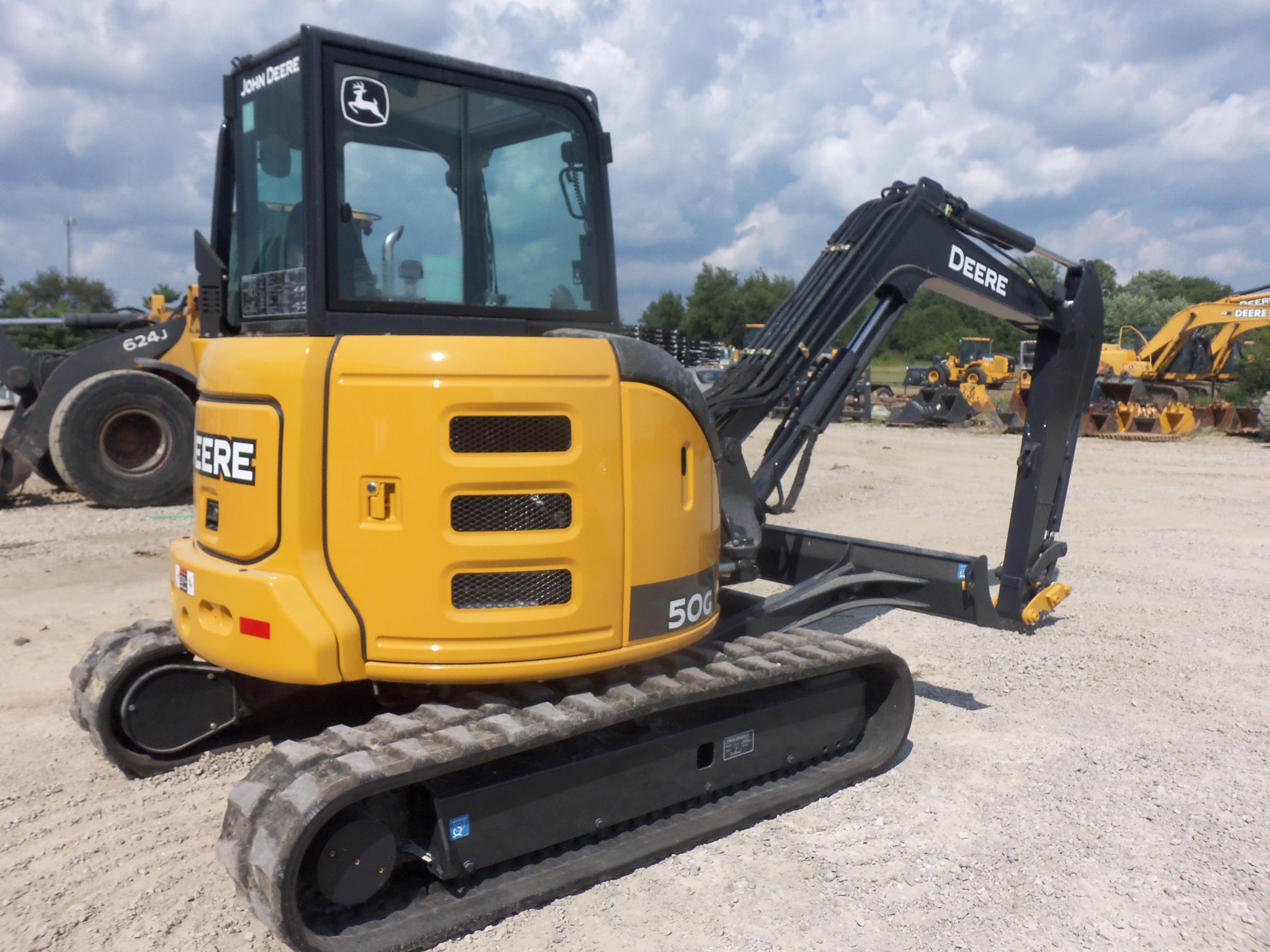 John Deere 50g Mini Excavator | John Deere Excavators: John Deere