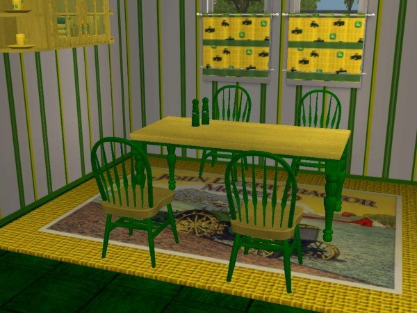 Mod The Sims - John Deere Kitchen and Dining set(RGiles Scarborough ...