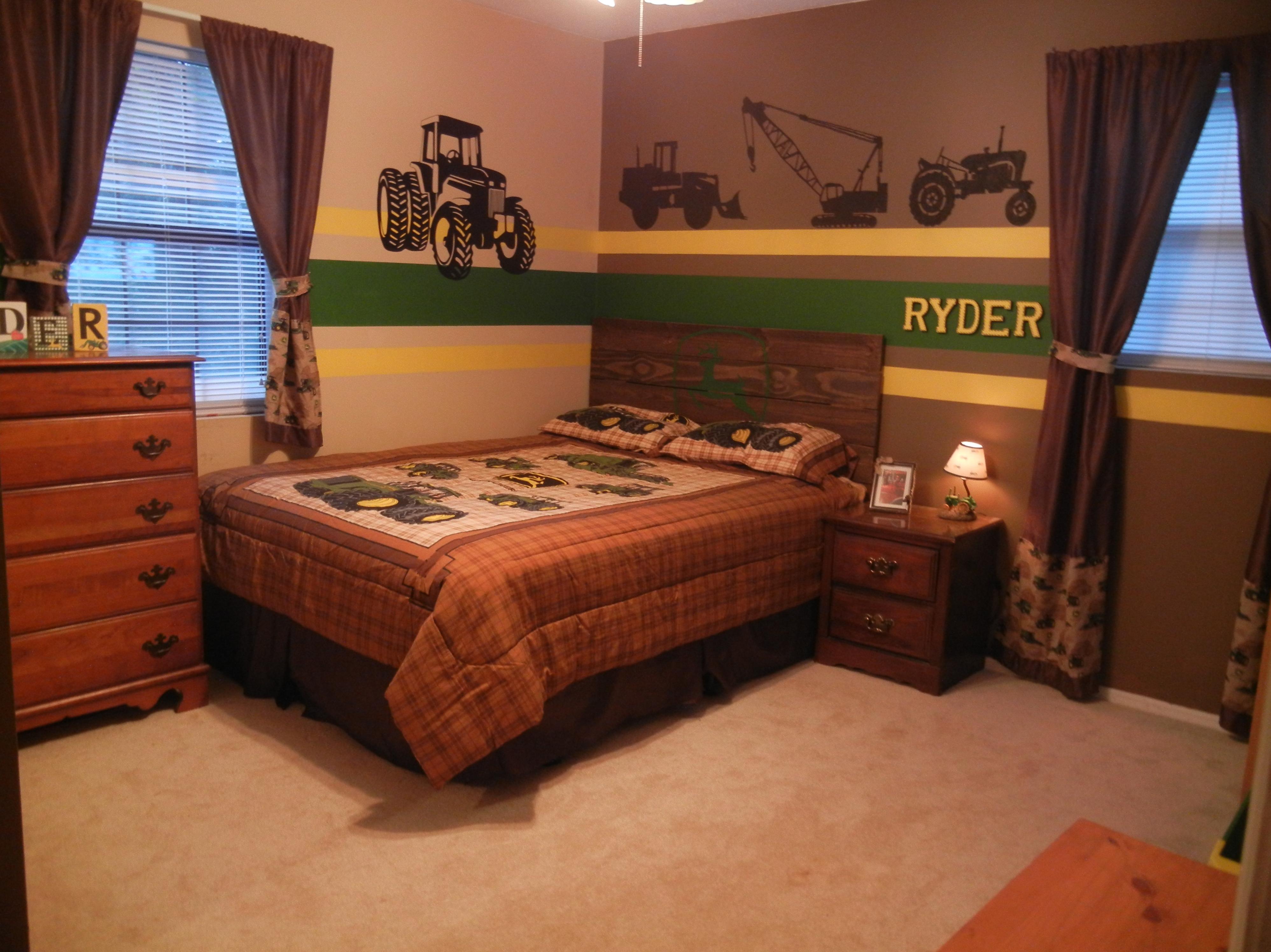 John Deere bedroom - tractors - little boy bedrooms   My Little B☺ys ...