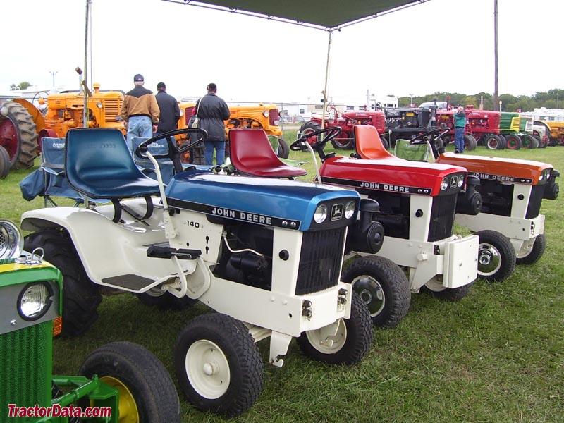 ... enjoyed the tractor rides. Restored John Deere patio series tractors