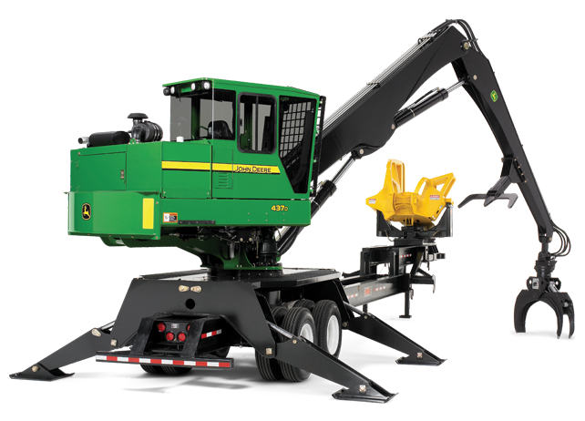 john deere knuckleboom loaders