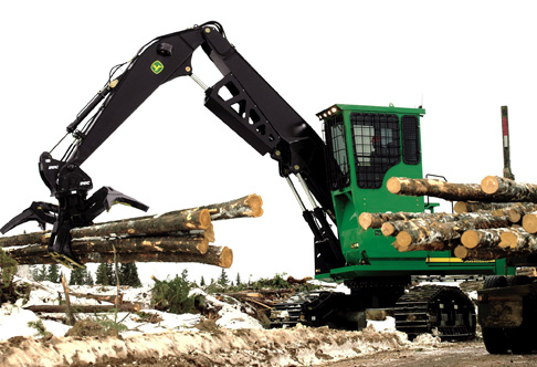 john deere forestry swing machines