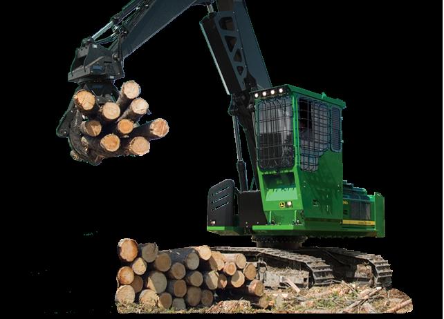 Forestry Swing Machine | 2454D | John Deere US