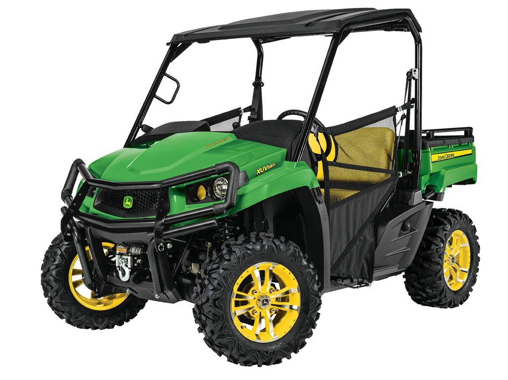 2016 John Deere Gator XUV590i and XUV590i S4 Preview - ATV.com
