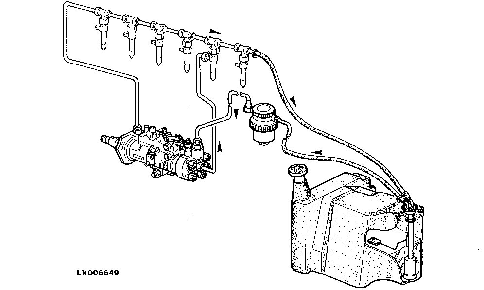 John Deere Fuel System Genuine Parts. John Deere Fuel System. John Deere. John Deere La140 Steering Parts Diagram At Scoala.co