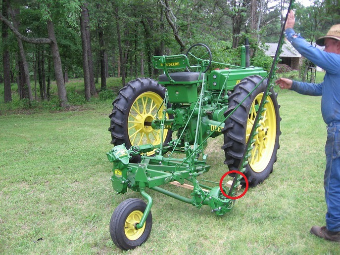 John Deere Sb3106 Sickle Bar Mower | John Deere Hay Equipment: John