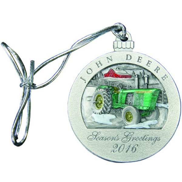 2016 Collectible Pewter Ornament. John Deere ...