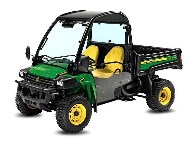 John Deere Gator XUV 855D   4x4 Gator Utility Vehicles