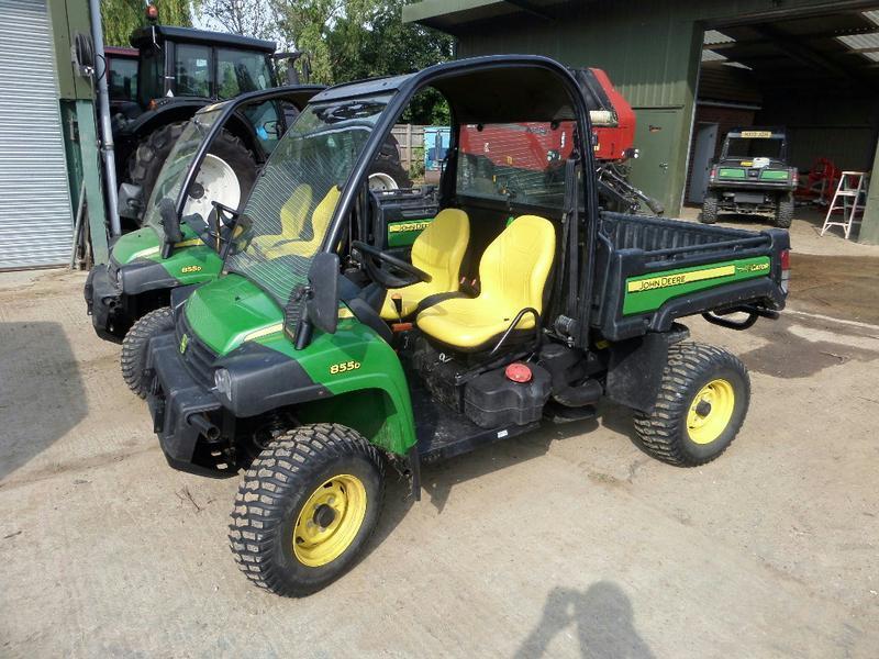2014 JOHN DEERE XUV 855D GATOR Diesel ATVs in Maidstone   Auto Trader ...