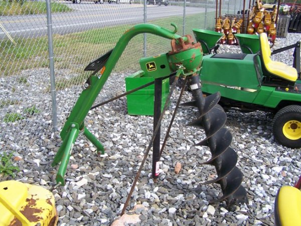 Ford Tractor Auger Parts : John deere post hole diggers landscape