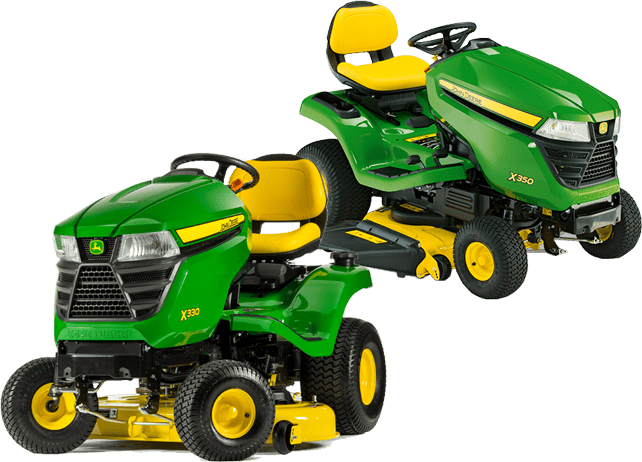 john deere x330 vs x350 lawn tractor comparison